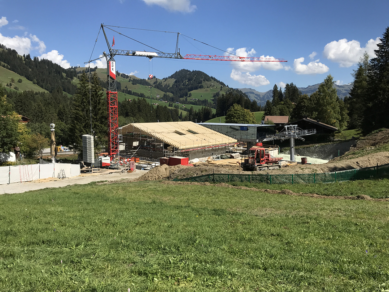 Nuova costruzione della stazione a valle di saanersloch for Dimensioni finestre velux nuova costruzione